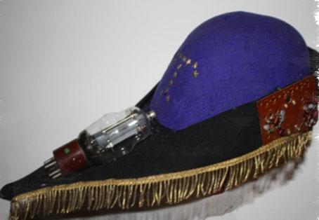 Il glorioso cappello nero-azzurro degli allievi del Rossi